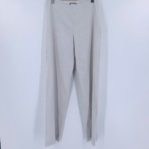 Sarah Pacino Linen Pants Size 2 Made in Italy